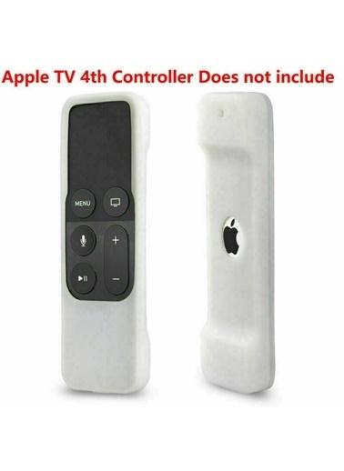 Techmaster Apple Tv 4. Nesil Jenerasyon Tv ile Uyumlu Kumanda Silikonu Beyaz